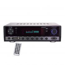 LTC Stereo Amplifier inc. FM, Bluetooth and Karaoke