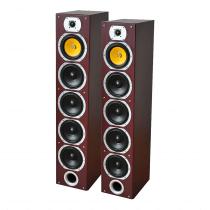 LTC Audio V7B-MA 440W Floor Standing Speakers (Mahogany)