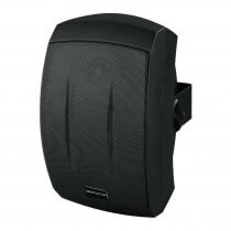 Monacor ESP-232/SW 100V Weatherproof Black Speaker PA Sound System