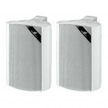 Monacor EUL-30/WS 100V White Speaker 30W Pair Sound System Background PA