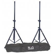 NJS 2 x Speaker Stand and Carry Bag Kit