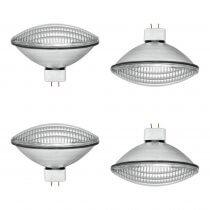 4x Omnilux PAR64 500W MFL CP88 Replacement Lamp