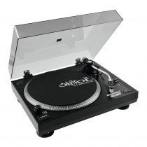 Omnitronic BD-1320 Turntable Belt Drive Vinyl Record Player DJ