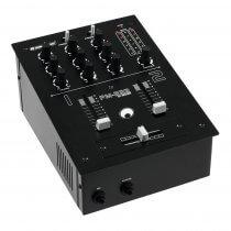 Omnitronic PM-222 2 Channel DJ Mixer