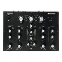 Omnitronic TRM-402 4 Channel Rotary DJ Mixer Disco Mixing