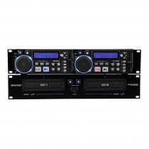 Omnitronic XCP-2800 Rack Installation Dual CD Player *B-Stock*
