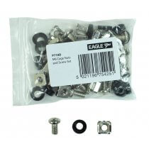 Eagle M6 Cage Nuts and Screw Set (Pack of 20)