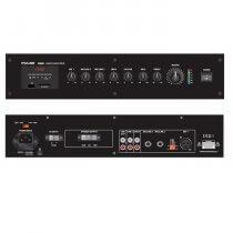 Pulse VM60 100V 4 Zone Mixer Amplifer 60W