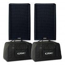 QSC K12.2 4000W Active Loudspeaker Package inc Tote Bag