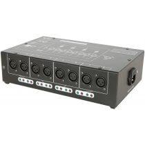 QTX DMX-D8 Splitter 8 Way Booster/Distributor