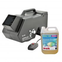 QTX B3 Bubble Machine inc. 5L Fluid