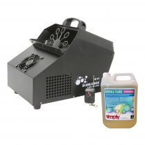 QTX Bubble Box with Wired & Wireless Remote inc. 5L Fluid