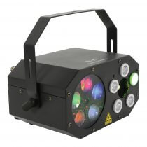 QTX LED Gobo Starwash Laser Effects Light