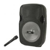 QTX PAL8 Portable Sound System inc. Microphone