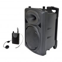 QTX QR10PA Portable PA System with VHF Wireless Neckband *B-Stock*