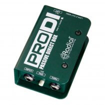 Radial ProDI Passive Direct BOX DI Guitar Band PA Sound System