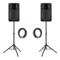 RCF ART312-A (MK4) Active 2Way Speaker (Bundle 1)