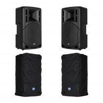 RCF ART312-A (MK4) Active 2Way Speaker (Bundle 2)