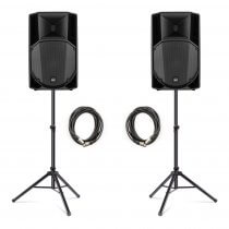 RCF ART715-A (MK4) Active 2Way Speaker (Bundle 1)