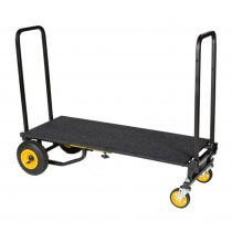 Rock N Roller R12RT Multi Cart Equipment Trolley inc. RSD10 Carpeted Deck Shelf