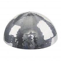 Showtec Half Mirrorball 50cm 500mm Mirror Ball Glitter Ball Revolving DJ Disco Decor