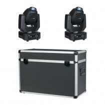 Showtec Phantom 65 Spot LED Moving Head (Bundle 2)