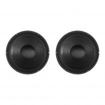 "2x SoundLAB 12"" 150W Chassis Speaker Driver (Bundle)"