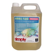 Simply Sound & Lighting High Quality Bubble Fluid (5L)