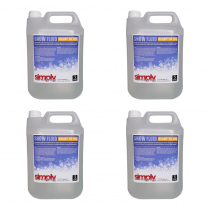 4x Simply Sound & Lighting High Quality Snow Fluid (5L)