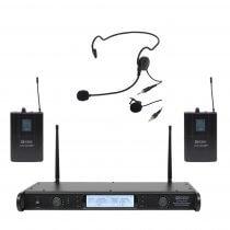W Audio DTM600 Twin Beltpack Wireless System