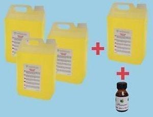HQ Power Fog fluid 20 Litre Pack of 4 x 5 Litre bottles High Quality