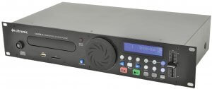 Citronic CDUSB-2 Single CD Player USB SD Rack
