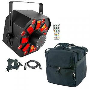 Chauvet DJ Swarm Wash FX 4-in-1 inc. Remote, Clamp, Cable and Carry Bag