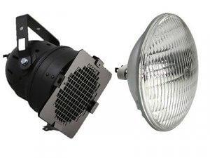 300W BLACK PAR56 INC. LAMP