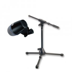 JTS TX-2 (Instrument Mic) & Pulse Mic Stand