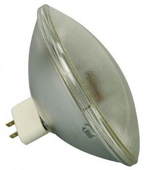 GE PAR 64 240V 1000W CP62 MFL Bulb PAR64 Can