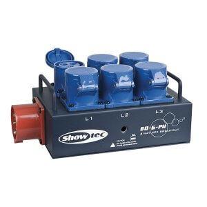 3 Phase Power Splitter Distribution
