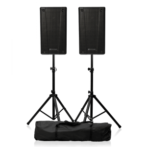 "2x dB Technologies B-Hype 15 Active PA Speaker 15"" Sound System Bundle"