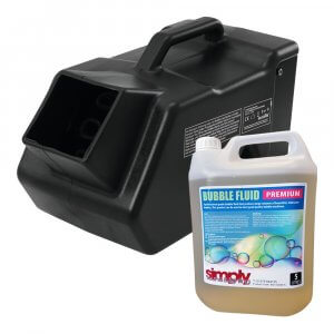 Eurolite B-80 Bubble Machine inc. 5L Fluid (Bundle)