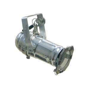 SoundLAB Silver PAR16 Spotlight with GU10 Socket
