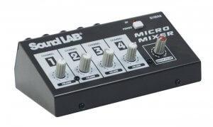 Soundlab 4 Channel Mono Mixer