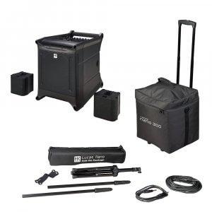 HK Audio Lucas Nano 305FX Portable PA System (Bundle)