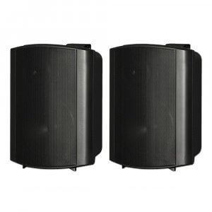 "2x HK Audio Install Speaker Black 6.5"" PA Sound System 120W 100V 8OHM"