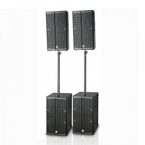 HK Audio L4-PACK4 Club Pack 4400W DJ Sound System PA Active Speaker