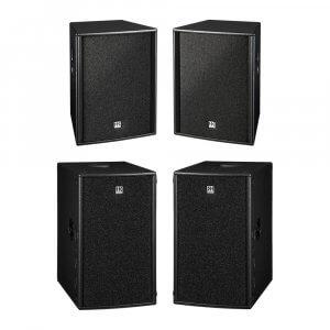 "HK Audio Premium Pro 12"" Active Sound System 4800W DJ Disco Package"