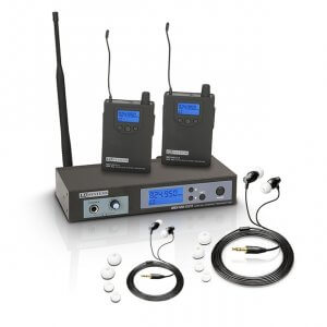 LD Systems MEI100 G2 Wireless In Ear Monitoring Bundle