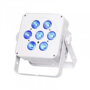 LEDJ Slimline 7Q5 RGBW in White Housing