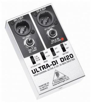 Behringer Ultra-DI DI20 DI Box DI120