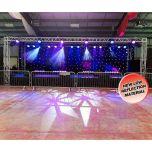 LEDJ DMX 8M x 4.5M Starcloth party event wedding DJ decor venue marquee STAR06
