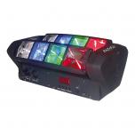 Ibiza Light Mini Spider RGBW LED Beam Effect Light